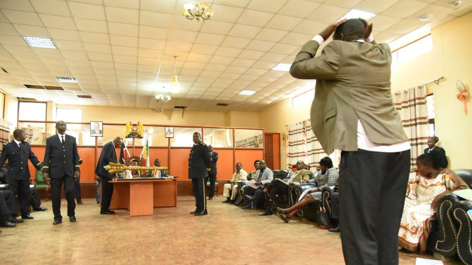Baringo county rejects BBI in chaotic Sitting