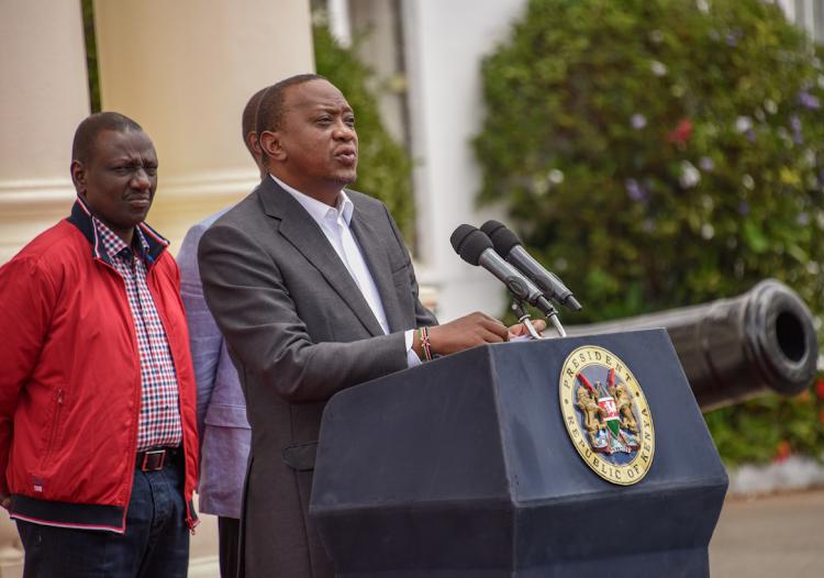 Kenyatta asks Ruto to shape up or ship-out